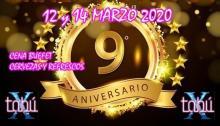 9º ANIVERSARIO DE TABÚ (Jueves 12)